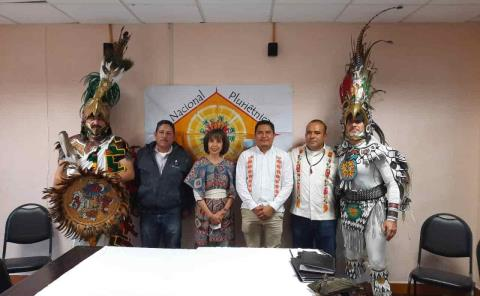 Gobernador de Indígenas recibe bastón de mando