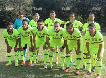 Leyendas de 1ra división ante Selección Huasteca