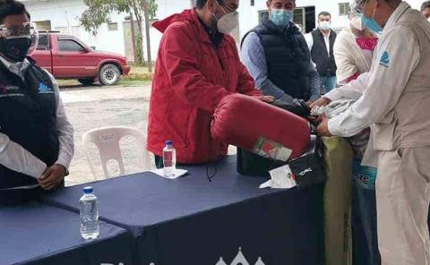 Secretaría de Salud  equipó a los vectores