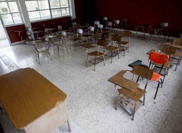 No hay vigilancia en las escuelas