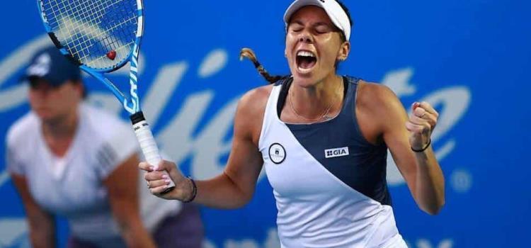 Giuliana Olmos esta en cuartos de final