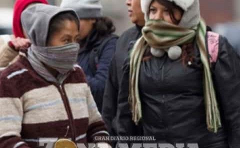 Toda la semana hará frío: P.Civil
