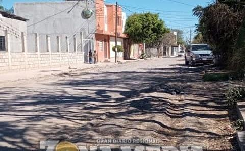 Pavimentarán calle Frontera