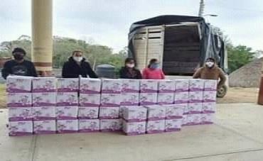 Distribuyen desayunos