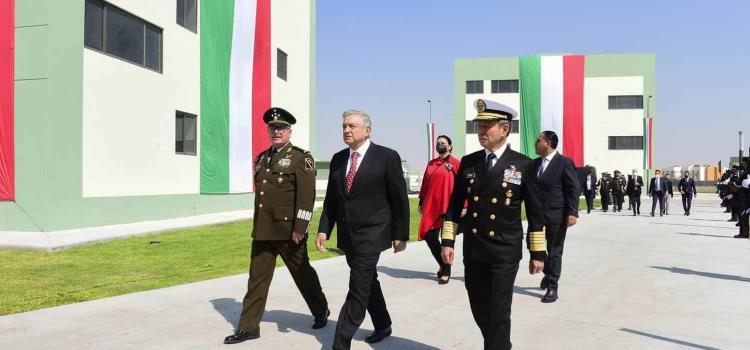 Ejército es pilar del Estado: AMLO