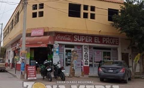 """ASALTARON A """"EL PROFE"""