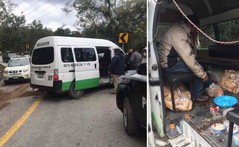 12 heridos deja aparatoso choque