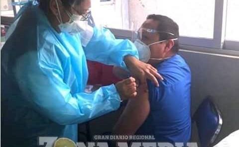 Quedo ya vacunado Personal del Hospital