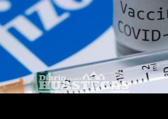 Primera dosis de vacuna Pfizer eficaz en un 85%