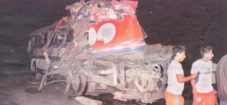 Sin resolverse caso del accidente de CD Oxitipa