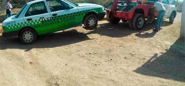 SSP recuperó taxi robado