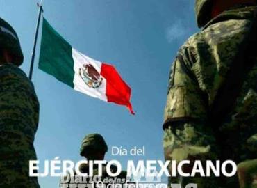 Celebran día del Ejército Mexicano