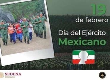 Conmemoraron Día del Ejército Mexicano