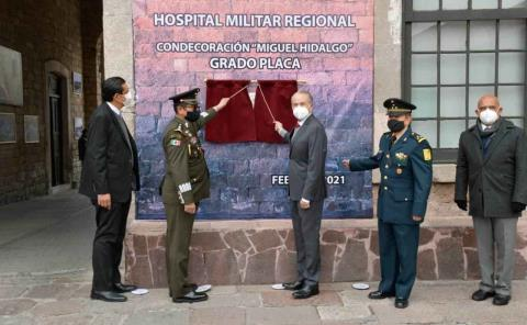Reconocen labor de los médicos militares