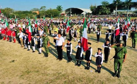 'Jurarán' Bandera de manera virtual