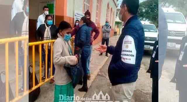 Servidores de la Nación se vacunan contra Covid