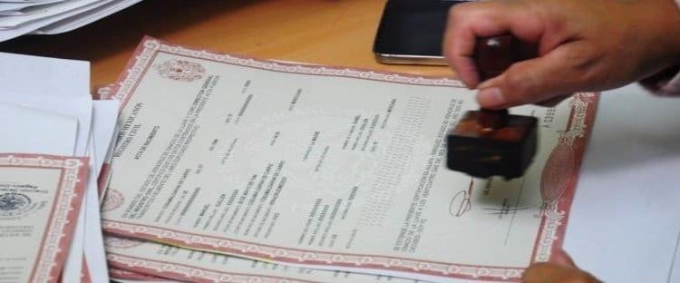 Sólo con cita previa atiende Registro Civil