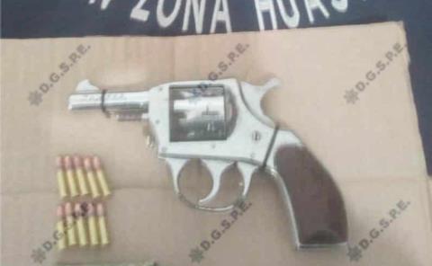 Portaban armas de fuego