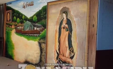 Promueven con murales varios parajes de Rayón