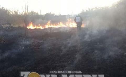 Tomar medidas con las quemas agrícolas