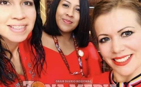 Bonita amistad forma Alicia, Lucero y Blanca