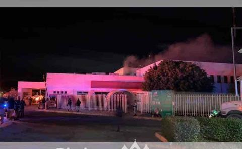 Se incendió Hospital  Regional: un lesionado