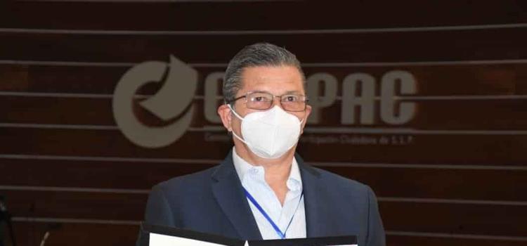 Registró candidatura Octavio Pedroza G.