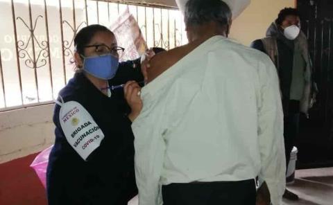Vacuna Covid-19 a la zona Tének