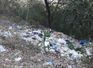 Denuncian basureros ilegales en las sierras