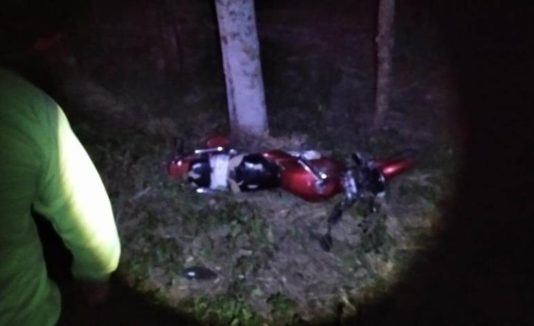 Murió un motociclista