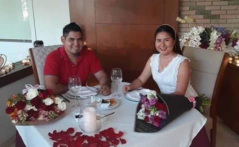 Aniversario de novios de Myriam y Óscar