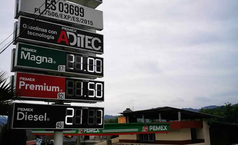 Encareció precio de combustibles