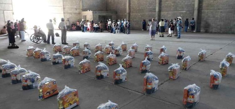 Apoyo alimentario distribuyó Inapam