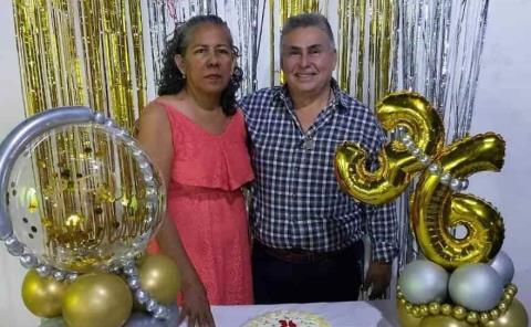 Aniversario de boda de Ana Laura y Boni