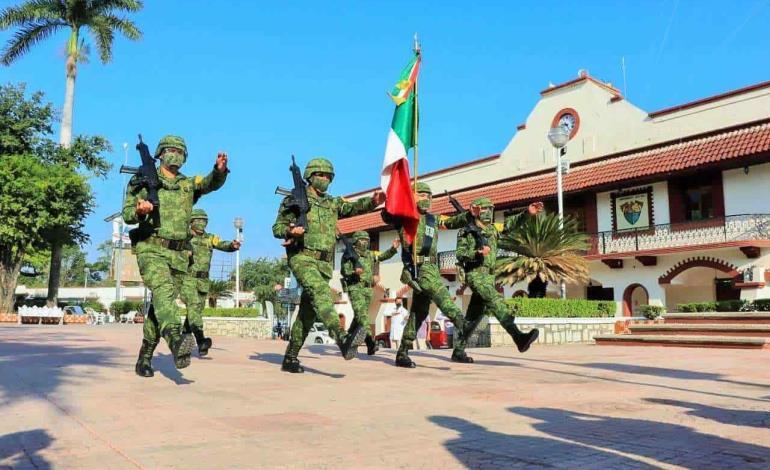 Inusual Juramento a la Bandera Nacional