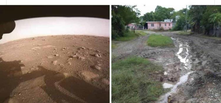 Mejor el suelo de Marte que las calles de Ébano