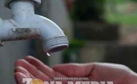 Sin agua en colonias