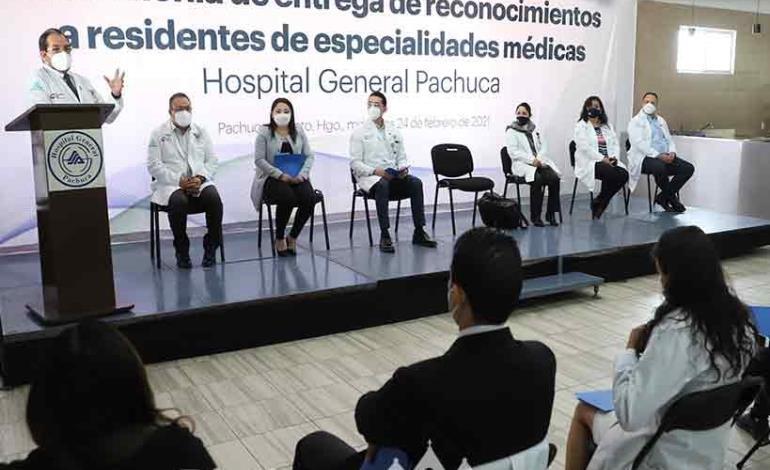 Aporte de residentes durante la pandemia