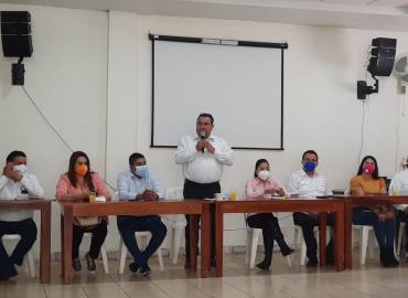 Se presentan candidatos de  la Coalición Sí por San Luis