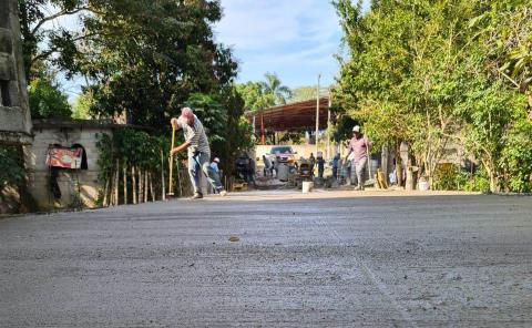"Verificaron obra de puente ""Zapata"""