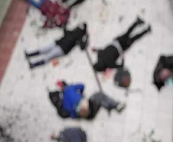 Terrible accidente en Bolivia