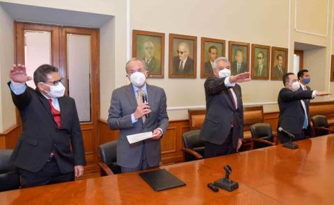 Cambios en el gabinete estatal