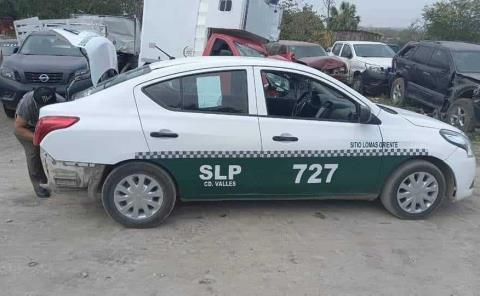 SCT decomisó taxis irregulares