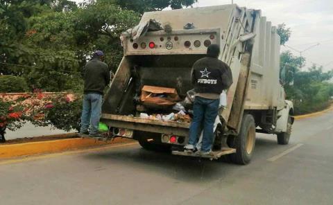 Camiones recolectores no representan peligro