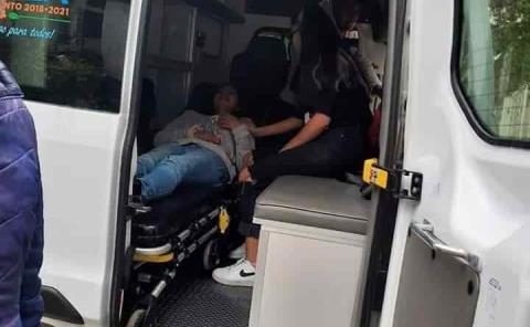 Dos mujeres lesionadas