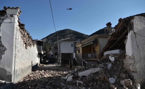 Remeció a Grecia sismo de 6.3 grados