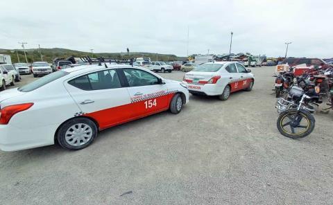 Operativo contra taxis 'irregulares'