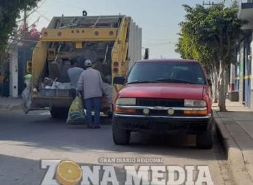 Recolectores de basura emitieron varios avisos