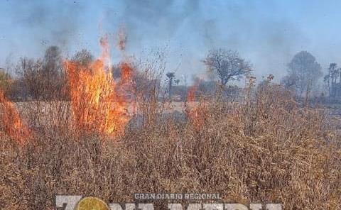 Incendio en El Refugio