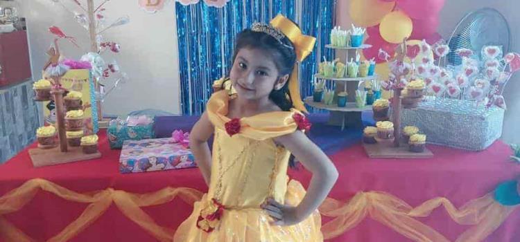 Fiesta de princesas para Naomi Peralta